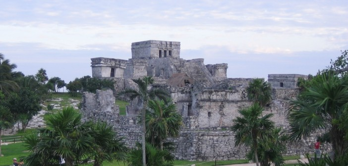 Mexico Tulum piramis
