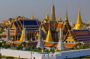 Taiföld karácson - Bangkok Királyi Palota