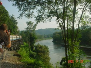 Thaiföld - Kwai folyó hídja halálszakasz