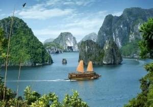 Vietnám körutazás hajó