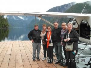 Alaszka körutazás - Alaszka hajóutak csoportkép
