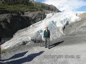 Alaszka hajóút: alaszkai gleccser