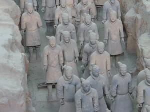 Kínai körutazás - Agyaghadsereg