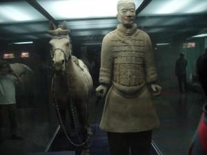 Kínai körutazás - Agyagkatona