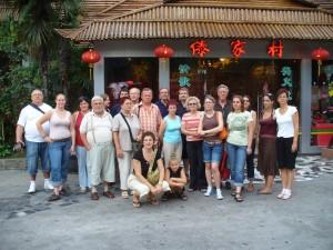 Kínai körút csoportkép