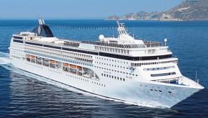 Mediterrán hajóút - MSC-Armonia