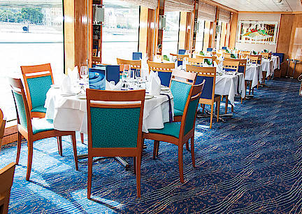 Budapest - Passau: MS Maxima étkező