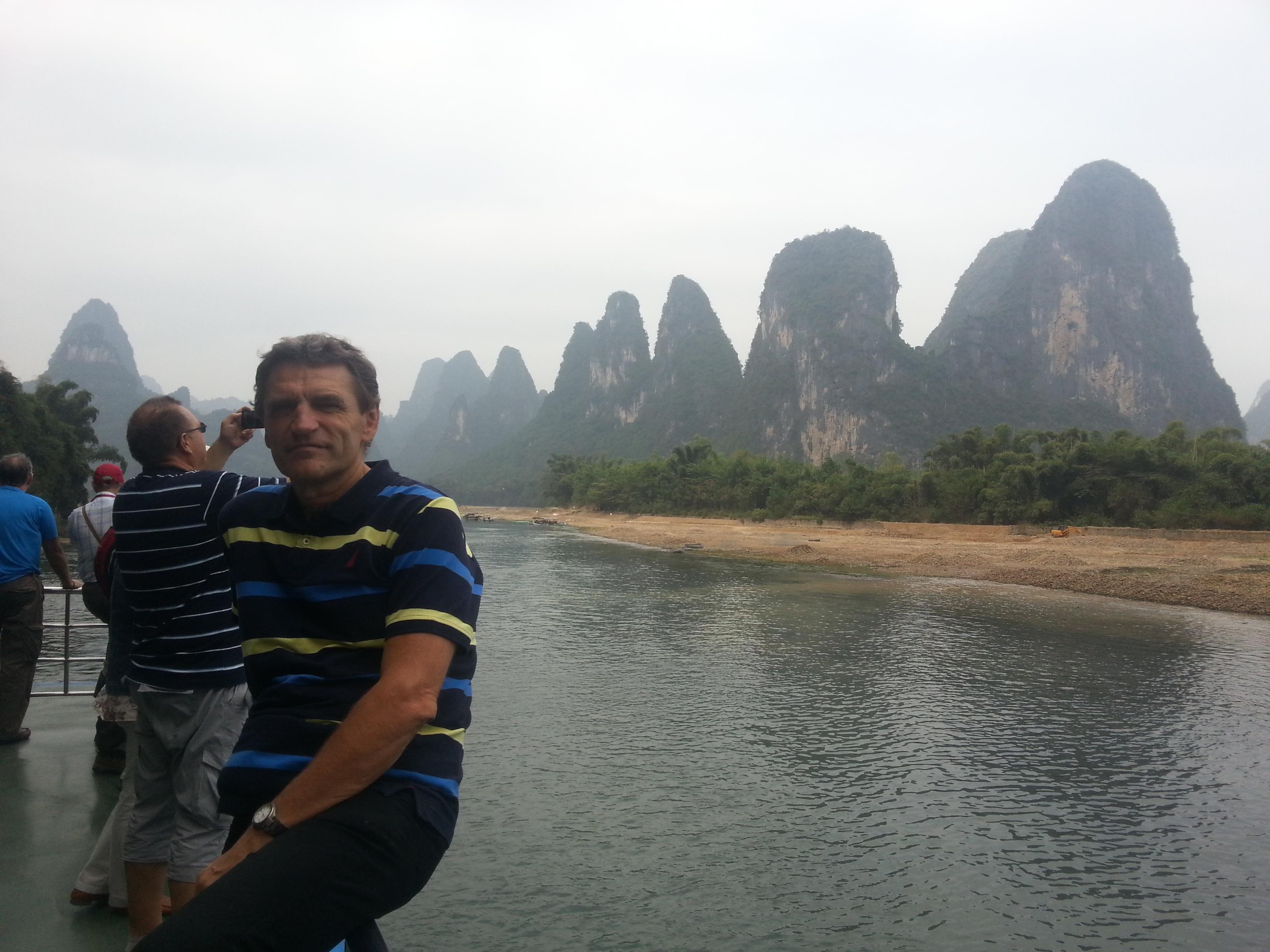 Kínai körút: Li folyó, tű sziklák