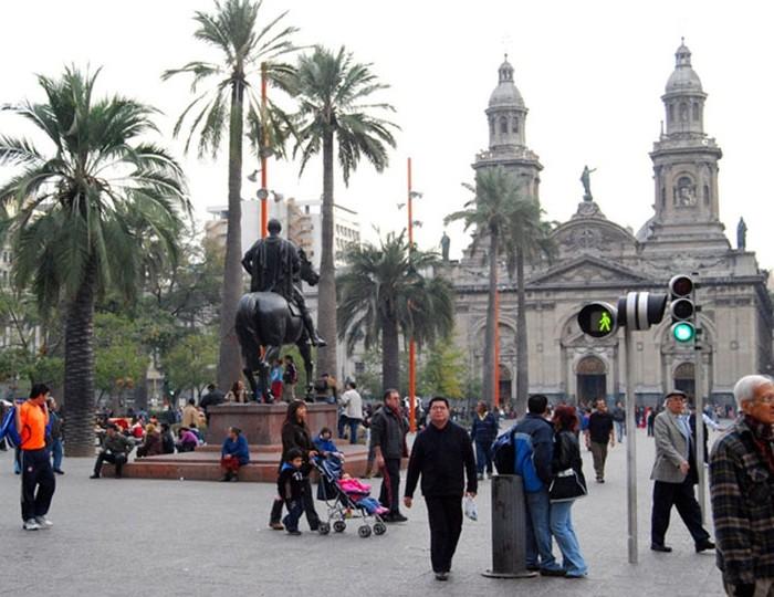 Chile - Peru körutazás: Santiago de Chile belváros