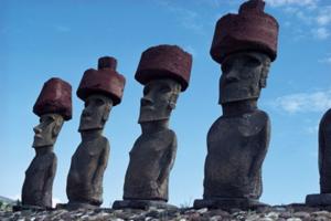 Húsvét-sziget szobor