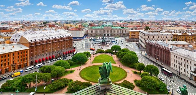 Balti-tengeri hajóutak - Szentpetervár