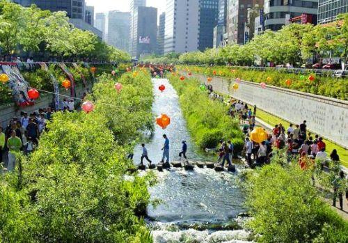 Dél-Korea utazás: Szöul, Szabadság Park