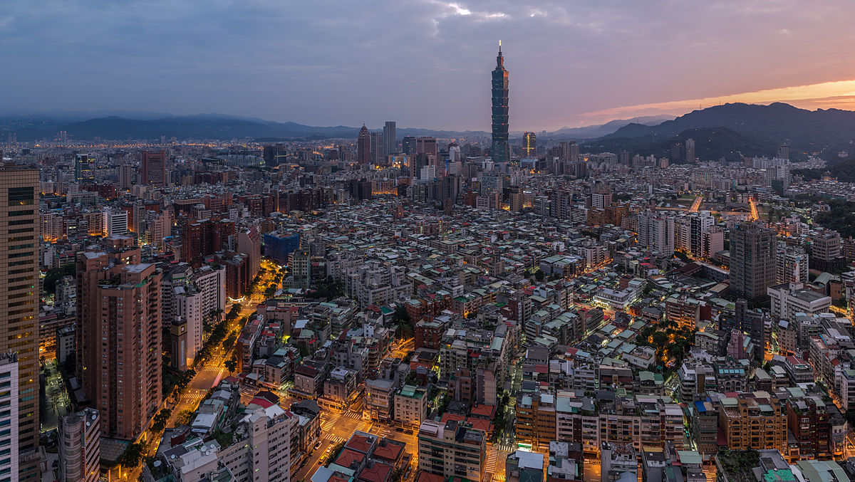 Taiwan - Vietnam szilveszter: Taipei