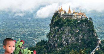 Burma körutazás, Popa-hegy