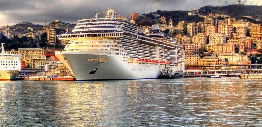 Földközi-tengeri Hajóút: MSC Fantasia