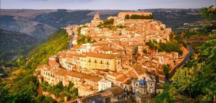 Ragusa látkép - Szicília körutazás
